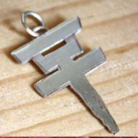 Tokio Hotel, rock group pendant in sterling silver