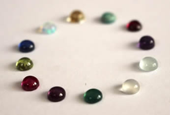 birthstones cabochons for jewelry